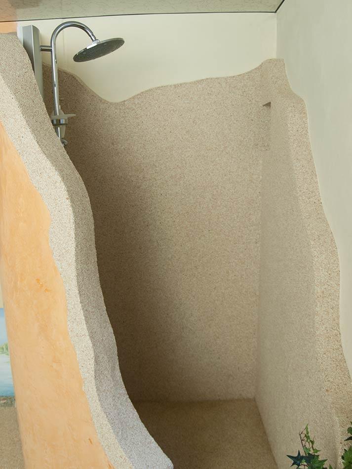 Pareti rivestite in pietra parete in pietra dietro letto - Parete rivestita in pietra ...